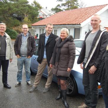 Kjell Ingolf Ropstad besøkte Skottevik