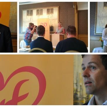Vellykket frokostmøte med Knut Arild Hareide