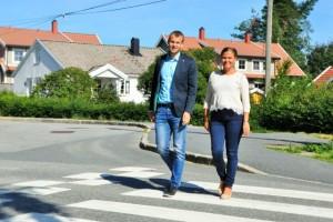 Kjell Ingolf og Jorunn Elisabet