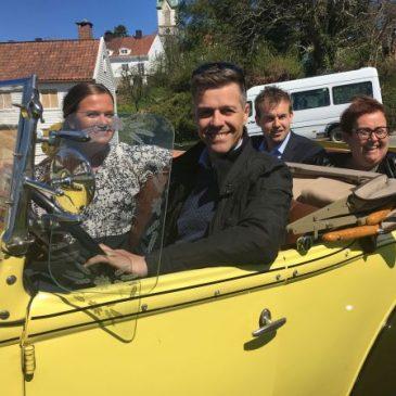 KrF-ledelsen skryter av Høvåg skole